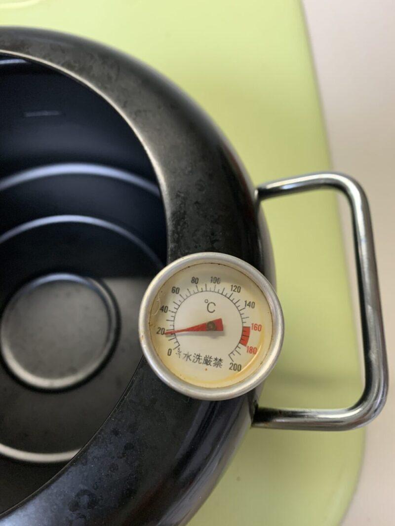 自宅の天ぷら鍋