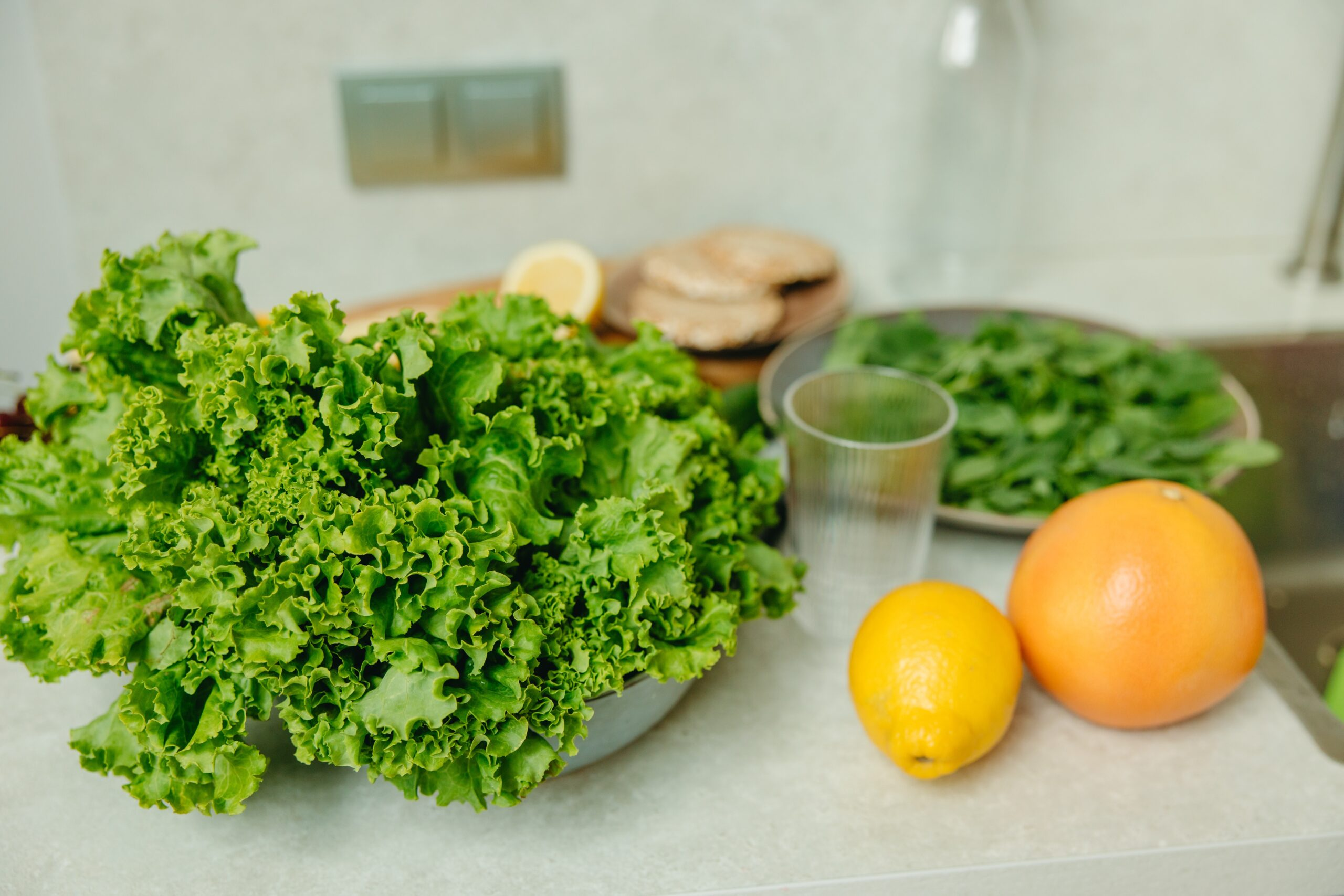 野菜や果実の写真
